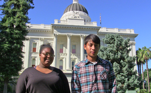 Students spoke out at the Capitol last year
